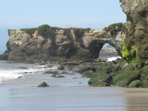 The gorgeous California coastline just north of Santa Cruz! March 28, 2015