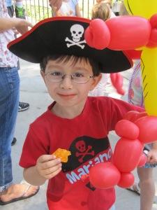 The Birthday Boy, aka The Pirate!