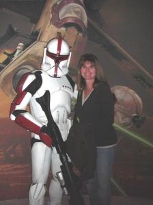 A Clone Trooper and Me (at least I think it's a Clone Trooper)