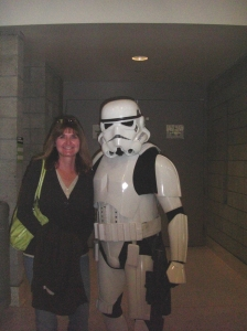 Me and a Storm Trooper?