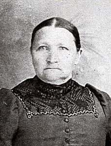 Dorthea, Rebecca's mother, and my great-great-great grandmother 1838-1913