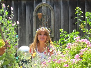 In the garden on May Day 2015