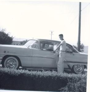 Bill and Pop's Mercury 1957 or 1958