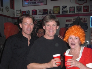 Barry, Bobby, and Carol at the Motel of Terror Halloween Party 2010