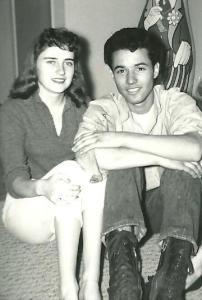 Mom and Daddy January 1959