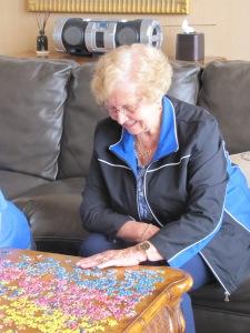 Aunt Luana loves puzzles