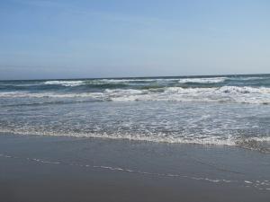The beach at Pajaro Dunes May 16, 2015