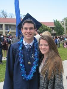 Ian and Rebecca Bellarmine Graduation May 23, 2015