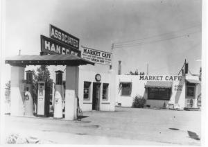 Quintino family gas station and cafe 1930's or 1940's