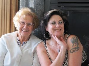 Aunt Luana and Pam