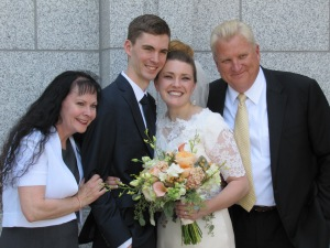 The groom and his parents!