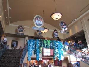 Just entering the lobby made you feel welcome Under the Sea!!