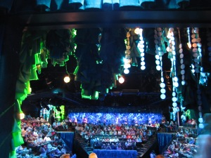 A stunning theater set the stage for an underwater adventure!