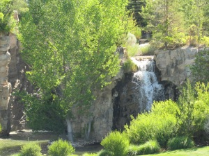 The waterfalls and Mountain Garden area were my second favorite.  A lot of water up top and it was so cool in the shade!
