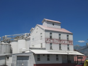 Lehi Roller Mills where scenes in Footloose were filmed.  Kevin Bacon and Footloose memorabilia was all around the gift shop!