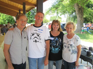 Kay, Willy, Me, and Cathy. Lots of childhood memories.